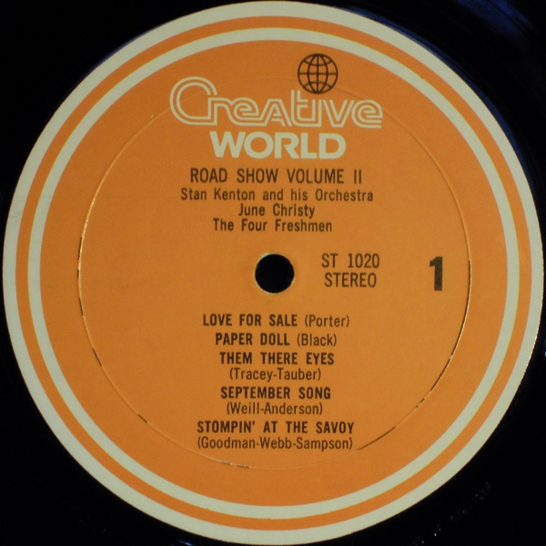 June Christy Road Show Vol 2 Female Vocal レコード通販 Waxdiva