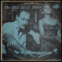 The Bill Beau Trio ♪ Live! ♪ Misty LP.1205 Mono
